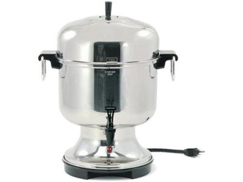 Farberware 36 Cup Automatic Stainless Steel Coffee Urn Coffee Maker