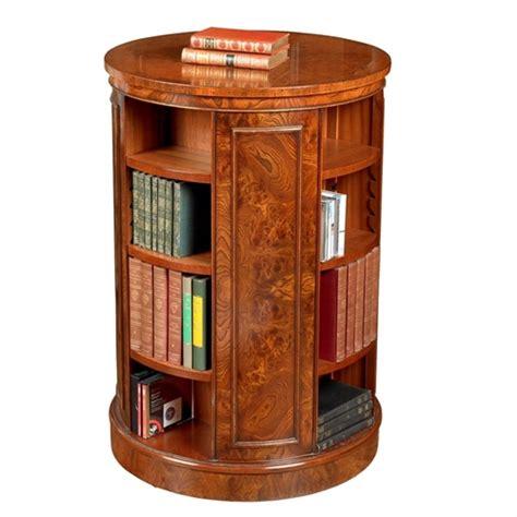 elm bookcase revolving bookcase table revolving