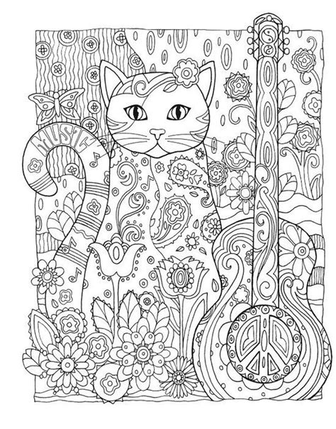 Creative Coloring Pages For Adults bol creative creative cats coloring book
