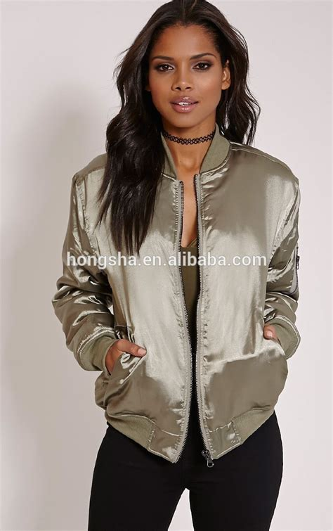 Jaket Bombber Scrimmer Light Grey Jaket Bomber Jaket Bomber fashion kahki satin bomber jacket cool winter jacket