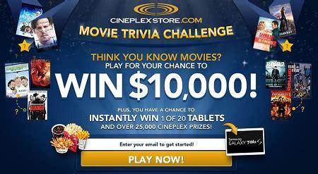 film quiz contest enter movie trivia challenge contest free stuff finder