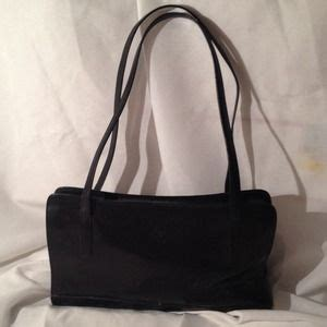 Fossil Handbag 2832 60 georgetown leather design handbags georgetown leather design rockabilly purse black