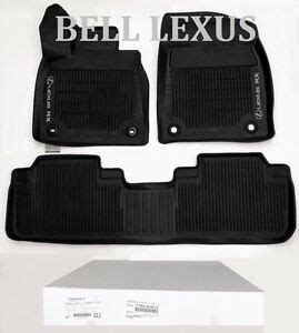 Lexus Oem Floor Mats - lexus oem factory all weather floor mat liner set 2016