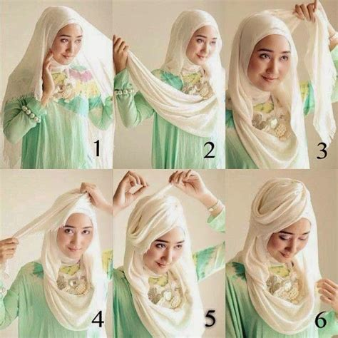 tutorial jilbab pesta simple hijab tutorials stylish hijab tutorials