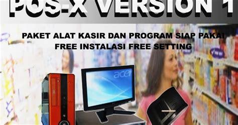 Mesin Kasir Pos X Version 3 mesin kasir pos x version 1