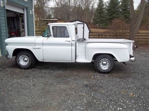 short bed truck cer purchase used 1960 chevrolet apache short bed stepside