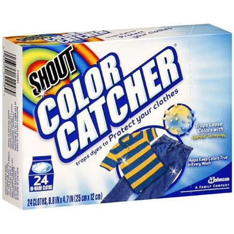shout color catcher clothes 24 ct