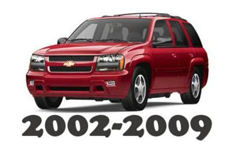 2002 2009 Chevrolet Trailblazer Service Repair Workshop