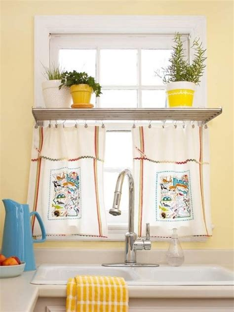 cute kitchen window curtains cute kitchen window curtain idea
