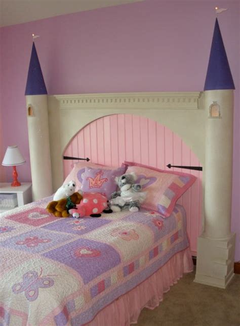 princess castle headboard headboard ideas for girls rooms design dazzle