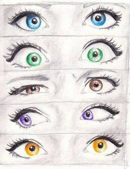 eye color drawing and drawings