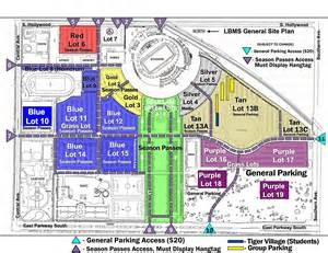 southern parking map map