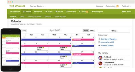 Best Shared Calendar Shared Custody Calendar For Divorced Or Separated Parents