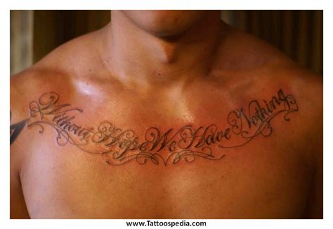 name tattoos on chest for men chest tattoos