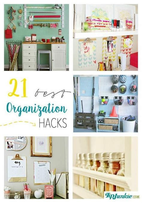 organizatoin hacks 231 best images about diy organizing the home on pinterest