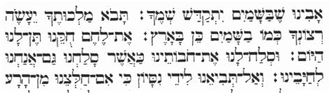 padre nostro in aramaico testo dario chioli commentari al 171 padre nostro 187