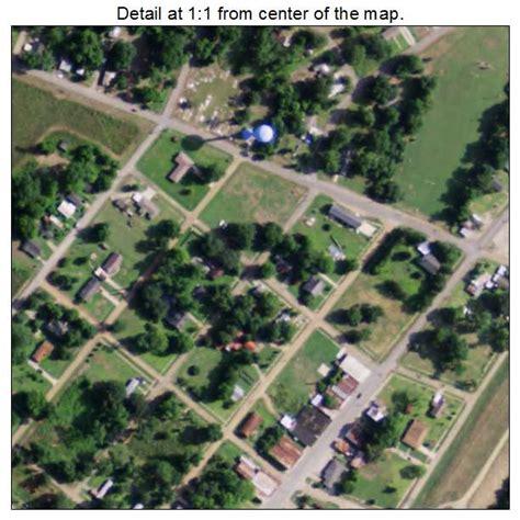 Waterproof L by Aerial Photography Map Of Waterproof La Louisiana