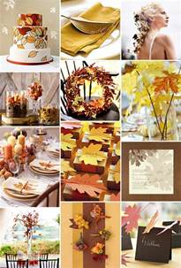fall themed wedding autumn wedding ideas autumn weddings pics