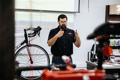 certified service trek opens school of certified service road bike news reviews and photos