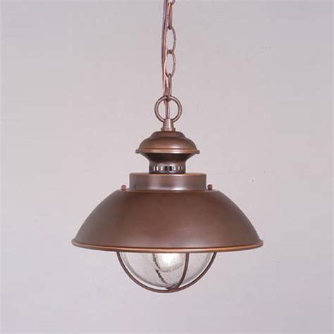Nautical Pendant Lights Shop Cascadia Lighting Nautical 10 75 In Burnished Bronze Hardwired Outdoor Pendant Light At