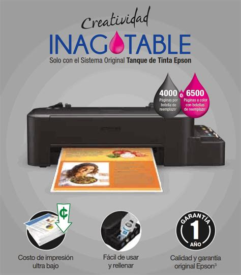resetter epson l120 tukang tinta epson impresora tinta continua ecotank l120 pc factory