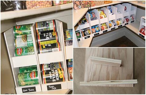 Rotating Pantry by Pantry Ideas Rotating Canned Food Storage Plans