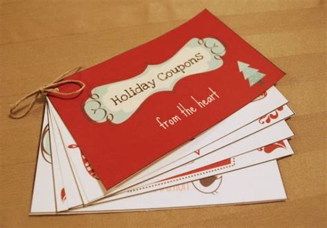 Handmade Coupon Ideas - 10 diy gifts for 10