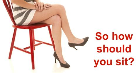 the reason why you should stop crossing your legs