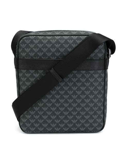 Marc Mesh Lace Robert Bag On Bags It Or It by Emporio Armani Logo Print Messenger Bag In Black For
