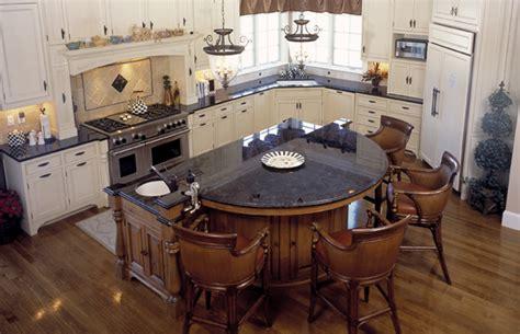 Granite Kitchen Island Table by Brown Antique Kitchen