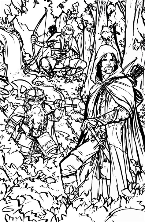 lord of the rings coloring book lord of the rings coloring pages lord of the rings