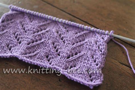 chevron knitting pattern simple chevron lace knitting pattern 1 knitting bee