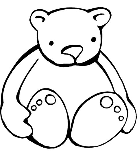 teddy bear coloring pages for your kids cartoon coloring