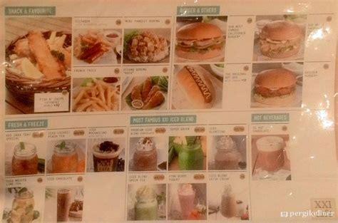 cinema 21 lotte bintaro menu concessions xxi lotte mall bintaro tangerang