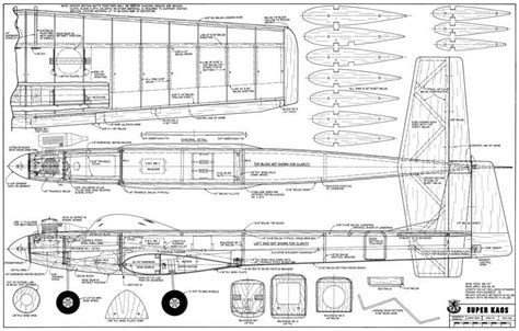 Kaos 3d Fullprint Nuri Open Wing kaos plans aerofred free model airplane