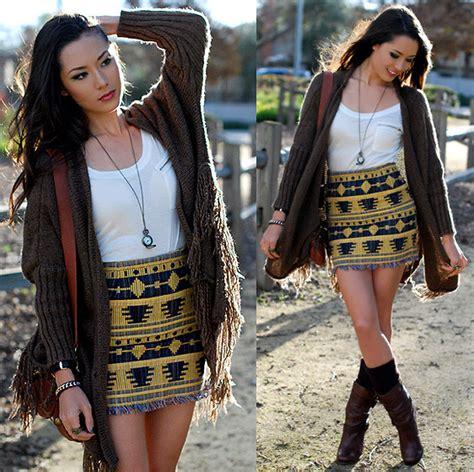jessica nkosi skirt necklace tribal fashion jessica r awwdore tribal craze pencil skirt romwe