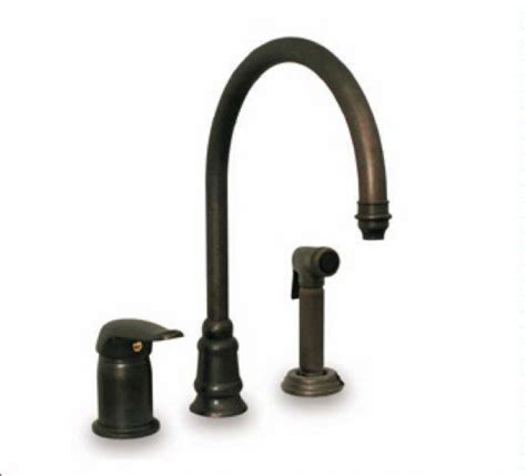 3 Hole Kitchen Faucet | whitehaus evolution three hole faucet wh18664 kitchen