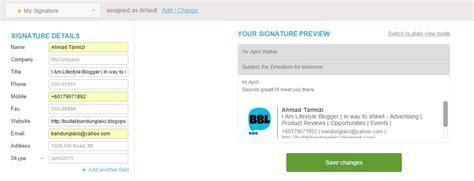 tutorial html email tutorial buat email signature sendiri budak bandung laici
