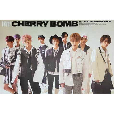 Nct127 3rd Mini Album Nct 127 Cherry Bomb 1 nct 127 nct 127 cherry bomb 3rd mini album asian mix store