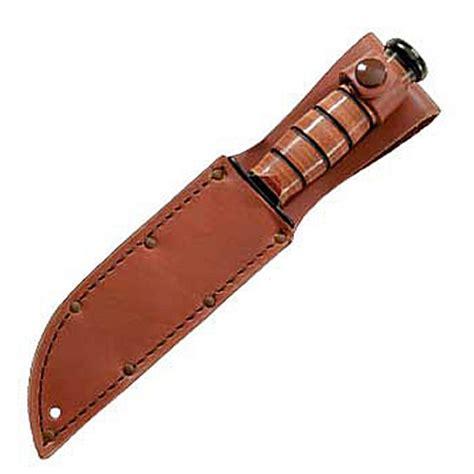 ka bar leather sheath barringtons swords ka bar knives plain leather sheath