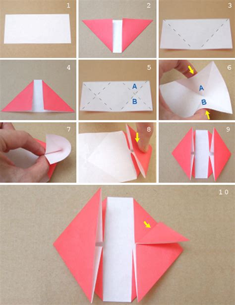 Fold Paper Hearts - the a blast origami letters and rings