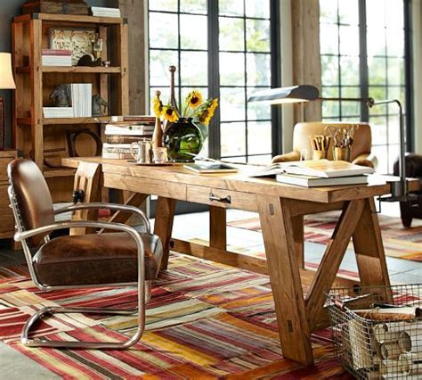 pottery barn caign desk 38 best images about create the space for work on pinterest