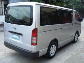 2nd Toyota Hiace For Sale In The Philippines 2005 Toyota Hiace For Sale From Manila Metropolitan Area