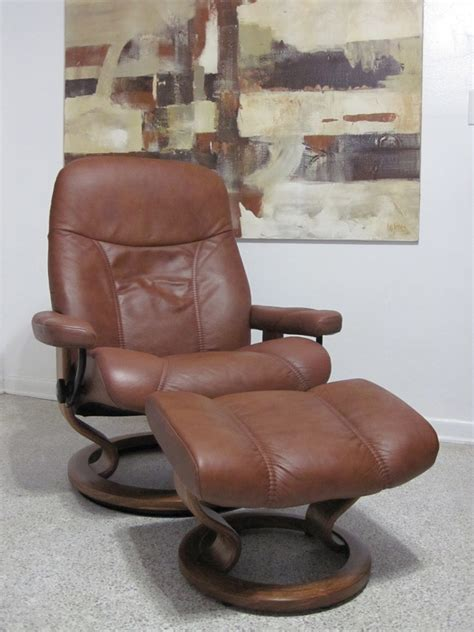 used ekornes stressless recliner for sale buy this used ekornes stressless recliner chair leather