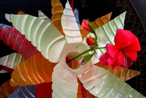 Flower Vase From Plastic Bottle by Plastic Bottle Flower Vases A Subtle Revelry