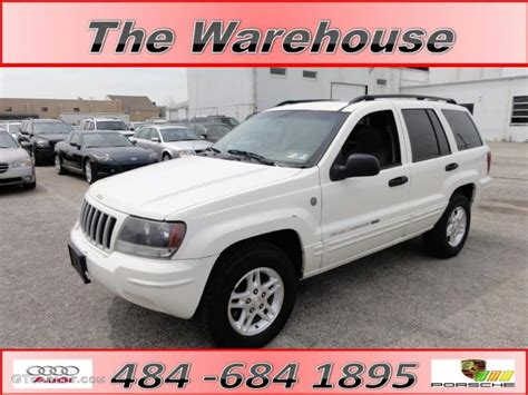 2004 white jeep grand laredo 4x4 48328246 gtcarlot car color galleries