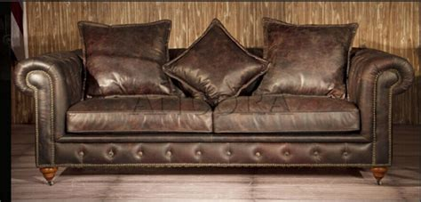 vintage style leather sofas best 20 vintage leather sofa