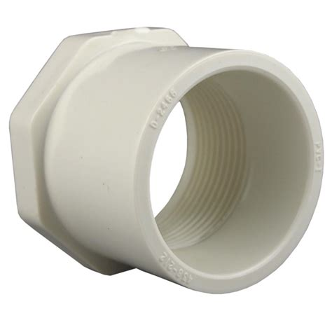 Reducer Pvc pipe 1 1 2 in x 3 4 in pvc sch 40 reducer