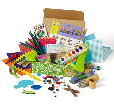 green kid crafts creativity box gifts