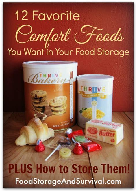 favorite comfort foods list 12 favorite comfort foods you want in your food storage